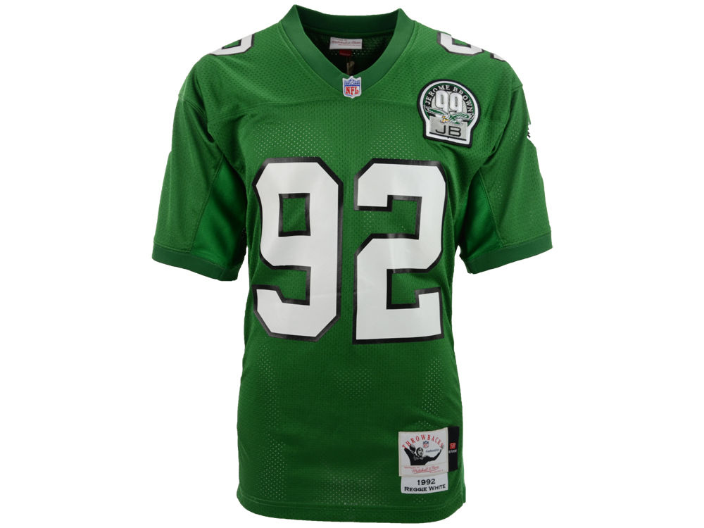 346a1d8ce92 ... ireland philadelphia eagles reggie white reebok mitchell ness authentic  football jersey 2a78d ccc6a