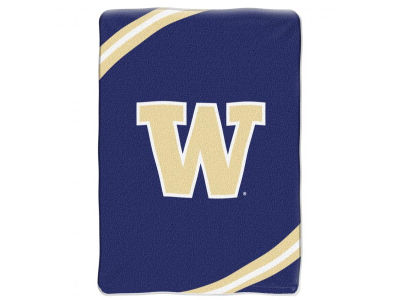 Washington Huskies 60x80 Raschel Throw