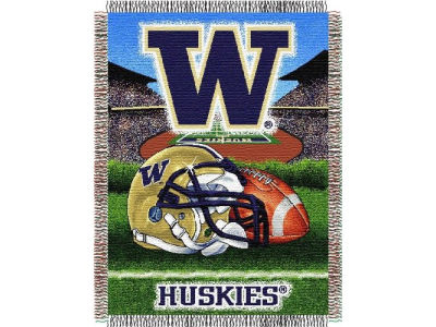 Washington Huskies Triple Woven Tapestry Throw