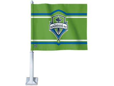 Seattle Sounders FC Car Flag