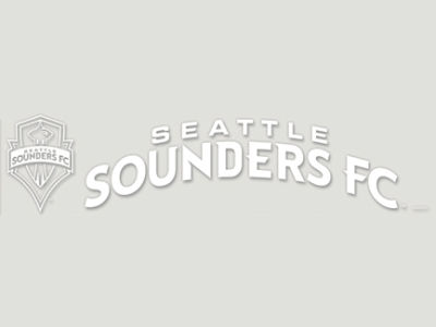 Seattle Sounders FC Diecut Decal 4x17