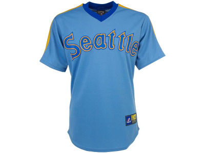 Seattle Mariners Majestic MLB Men's Cooperstown Replica Jersey