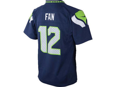 Seattle Seahawks Fan #12 NFL Infant Game Jersey