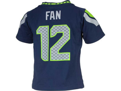 Seattle Seahawks Fan #12 Nike NFL Toddler Game Jersey