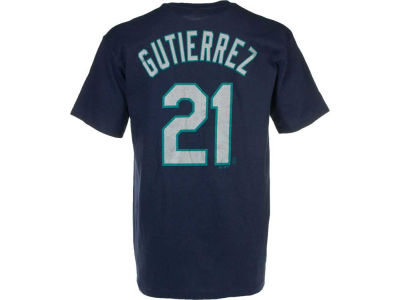 Seattle Mariners Franklin Gutierrez Majestic MLB Youth Player T-Shirt