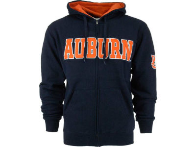 Auburn Tigers NCAA Youth Block Full Zip Hoodie