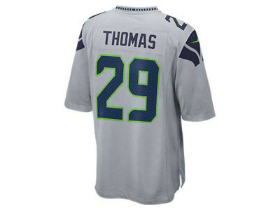 Seattle Seahawks Earl Thomas Nike NFL Men's Game Jersey