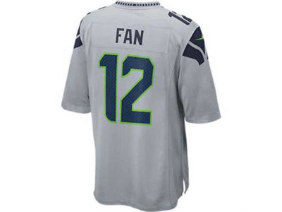 Seattle Seahawks Fan #12 Nike NFL Men's Game Jersey