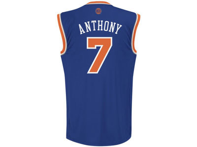 New York Knicks Carmelo Anthony NBA Youth Revolution 30 Swingman Jersey