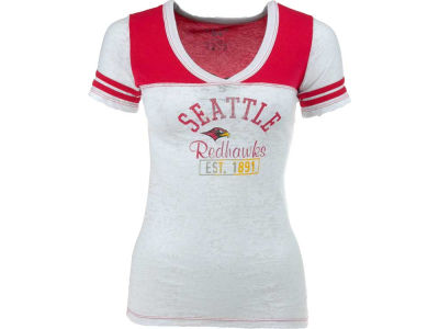 Seattle Redhawks Blue 84 NCAA Women's V-Neck T-Shirt