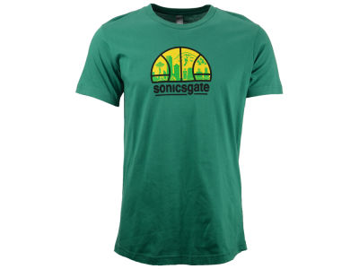 Seattle SuperSonics NBA Men's Sonicsgate T-Shirt