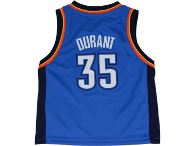 Oklahoma City Thunder Kevin Durant NBA Toddler Replica Jersey