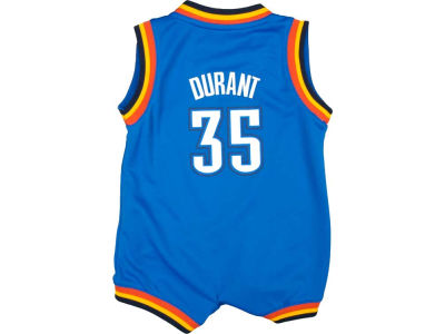 Oklahoma City Thunder Kevin Durant NBA Infant Replica Jersey