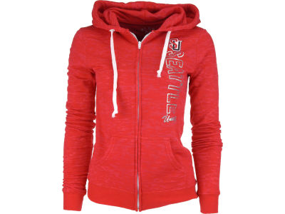 Seattle Redhawks Blue 84 NCAA Womens 1/2 Zip Hoodie