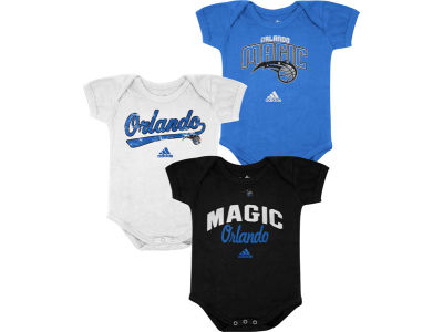 Orlando Magic NBA Newborn 3 Pack Creepers