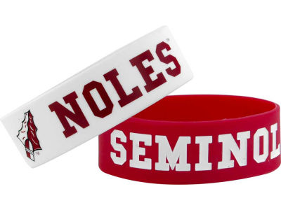 Florida State Seminoles 2-pack Wide Bracelet