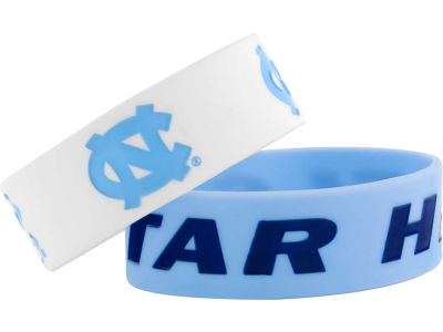 North Carolina Tar Heels 2-pack Wide Bracelet