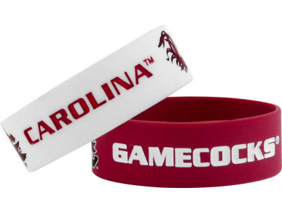 South Carolina Gamecocks 2-pack Wide Bracelet