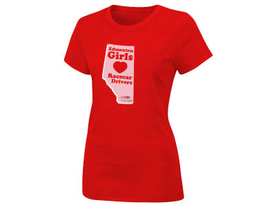 Edmonton Grand Prix EI 2012 Womens Love T-Shirt