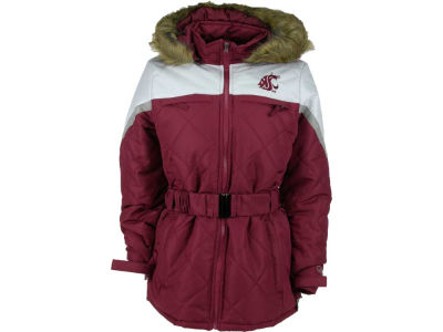 Washington State Cougars GIII NCAA Womens Locker Jacket