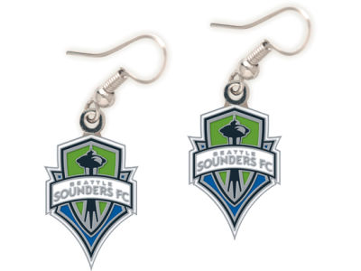 Seattle Sounders FC Dangle Earrings