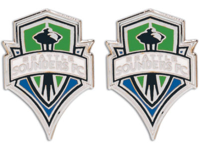 Seattle Sounders FC MLS Post Earrings