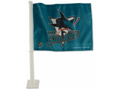 San Jose Sharks Car Flag