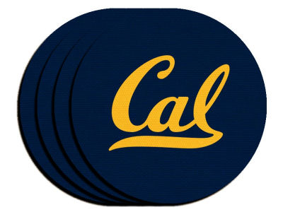 California Golden Bears 4-pack Neoprene Coaster Set