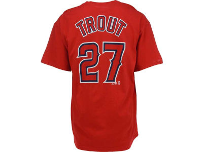 Los Angeles Angels Mike Trout Majestic MLB Men's Player T-Shirt