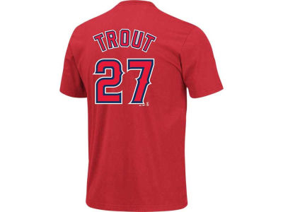 Los Angeles Angels Mike Trout Majestic MLB Youth Player T-Shirt