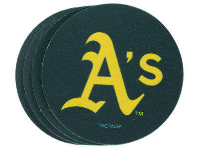 Oakland Athletics 4-pack Neoprene Coaster Set