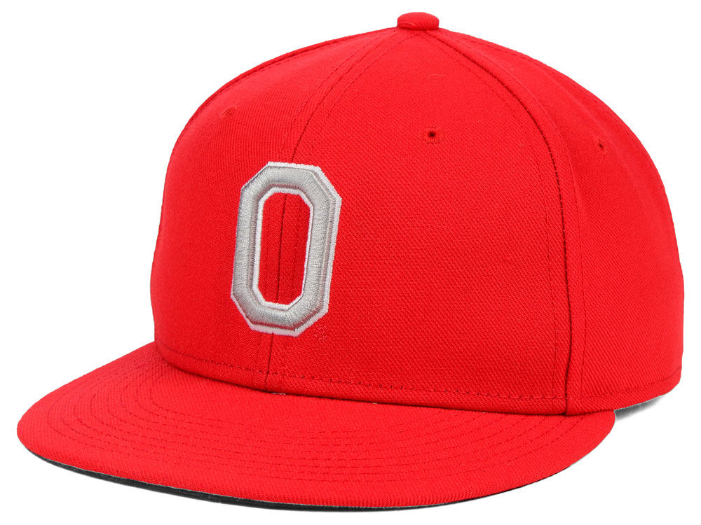Ohio State Buckeyes Nike NCAA Nike Team Sports Authentic Fitted Baseball Cap   0668b92a42d