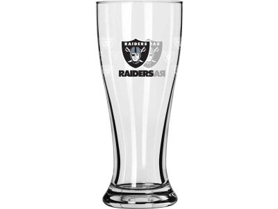 Oakland Raiders Satin Etch Mini Pilsner