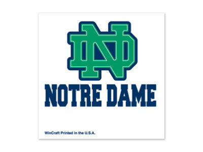 Notre Dame Fighting Irish Tattoo 4-pack