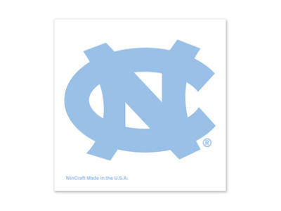 North Carolina Tar Heels Tattoo 4-pack