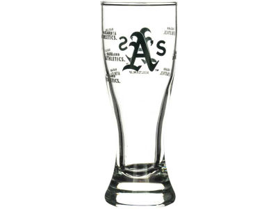 Oakland Athletics Satin Etch Mini Pilsner