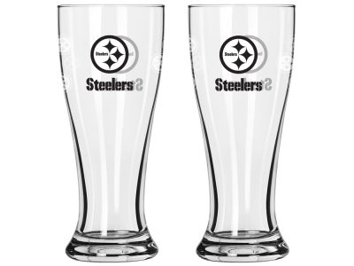Pittsburgh Steelers Satin Etch Mini Pilsner