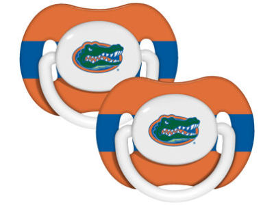 Florida Gators 2-pack Pacifier Set