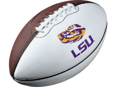 LSU Tigers Nike NCAA Autograph Football