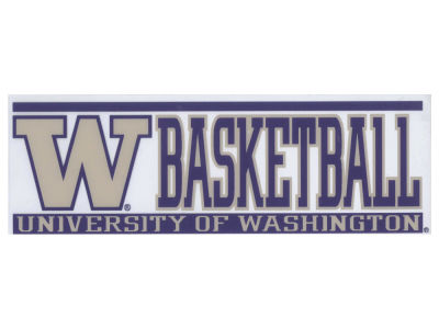 Washington Huskies Bar Static Decal