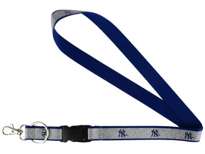 New York Yankees Sparkle Lanyard-Aminco