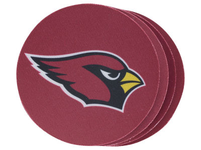 Arizona Cardinals 4-pack Neoprene Coaster Set