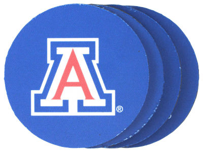 Arizona Wildcats 4-pack Neoprene Coaster Set