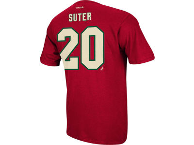 Minnesota Wild Ryan Suter Reebok NHL Men's Player T-Shirt