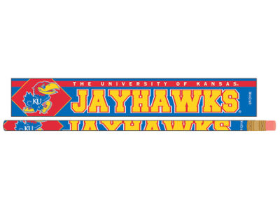 Kansas Jayhawks Single Pencil