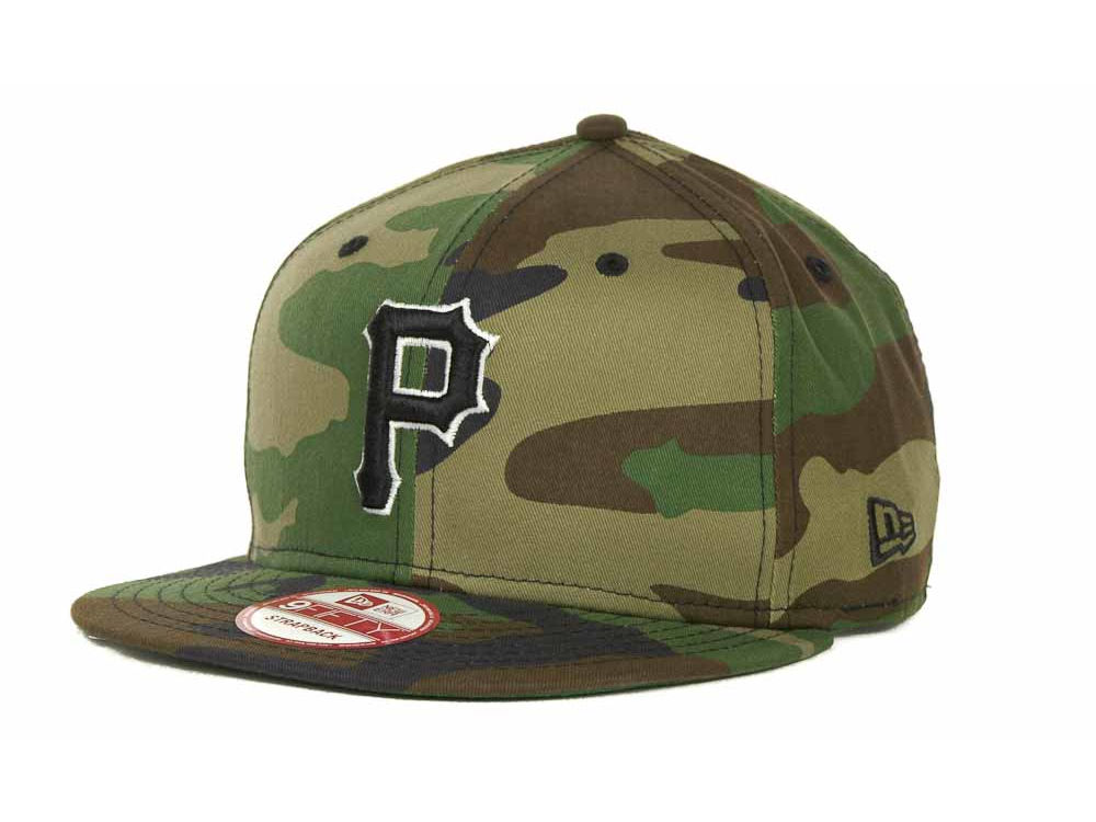 a05f19b077f ... discount pittsburgh pirates new era mlb camoback strapback 9fifty cap  f0a98 affe4