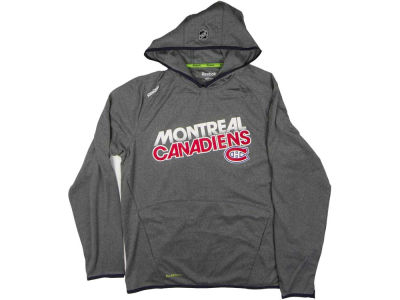 Montreal Canadiens Reebok NHL CN Center Ice Travel and Training Hoodie