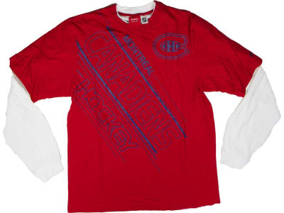 Montreal Canadiens Reebok NHL CN Layered Sport T-Shirt