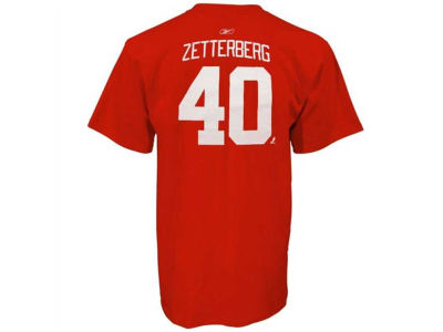 Detroit Red Wings Henrik Zetterberg adidas NHL Youth Player T-Shirt
