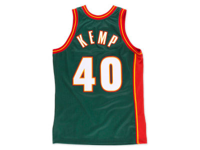Seattle SuperSonics Shawn Kemp Mitchell & Ness NBA M&N 1995 Authentic Jersey